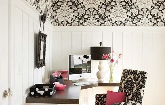 Organized Home Office Inspiration