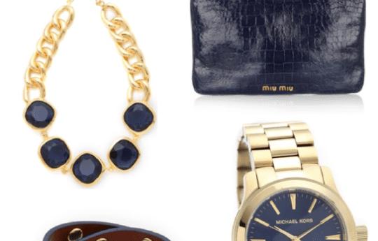 Navy + Gold = Chic