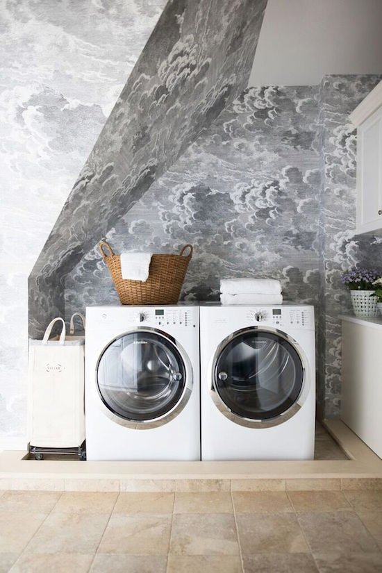 one room challenge laundry renovation