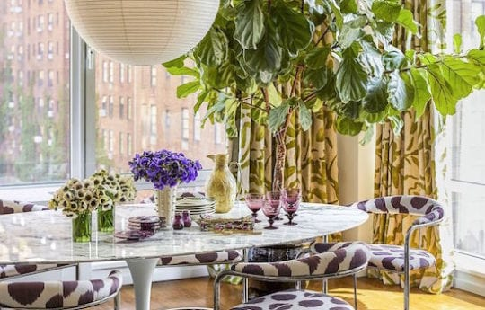 Home Tour: Chic and Colorful In NYC