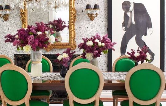 Home Tour: Moody Glamour in Toronto