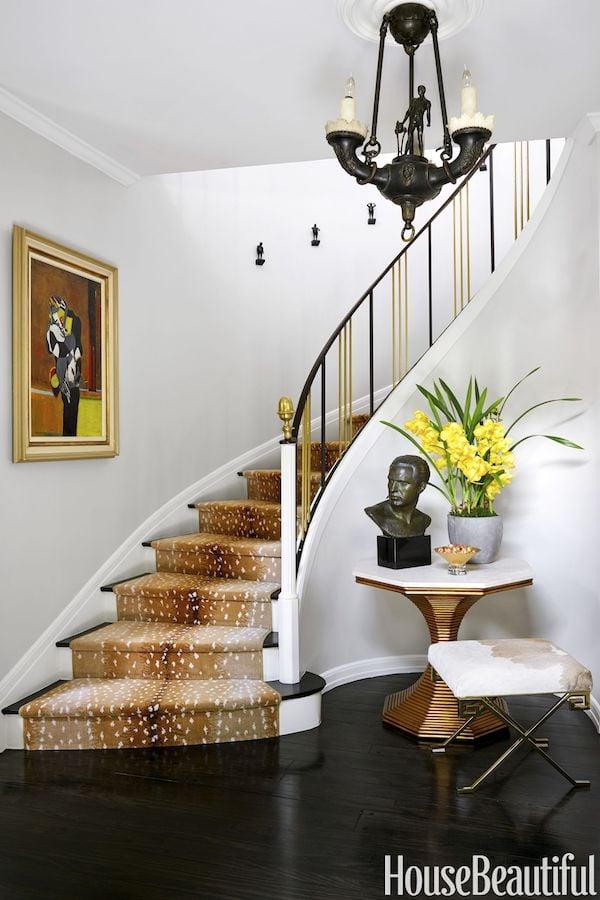 stark antelope runner carpet stairs
