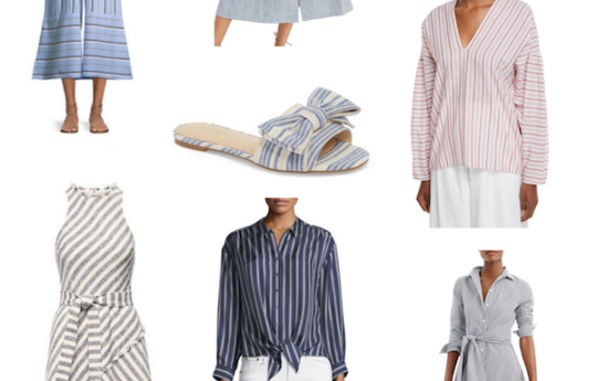 How To Wear Flattering Stripes This Summer