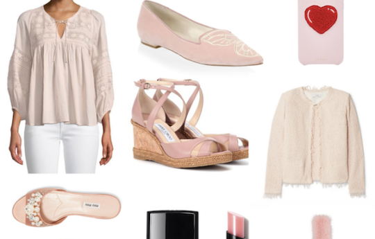 Pretty Pale Pink Fashion Finds