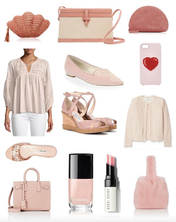 pale pink fashion picks