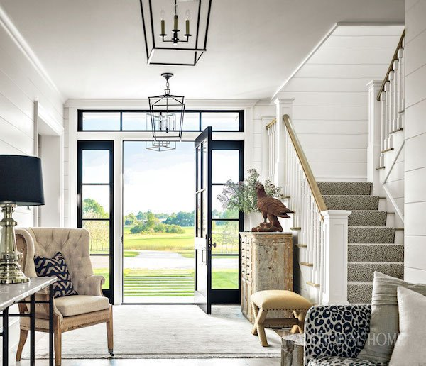 traditional farmhouse charm home tour