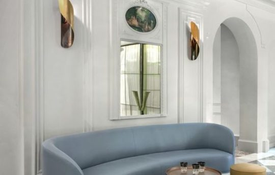 All In The Details: Curved Sofas