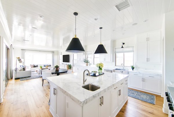 ... flows into the kitchen. Keeping everything simple clean and neutral seems to be key here. I\u0027m sure I\u0027ll be referencing this space a lot in the next few ... & Classic Modern Kitchen | The Zhush