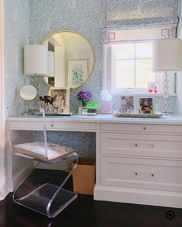 vanity dressing room decor ideas