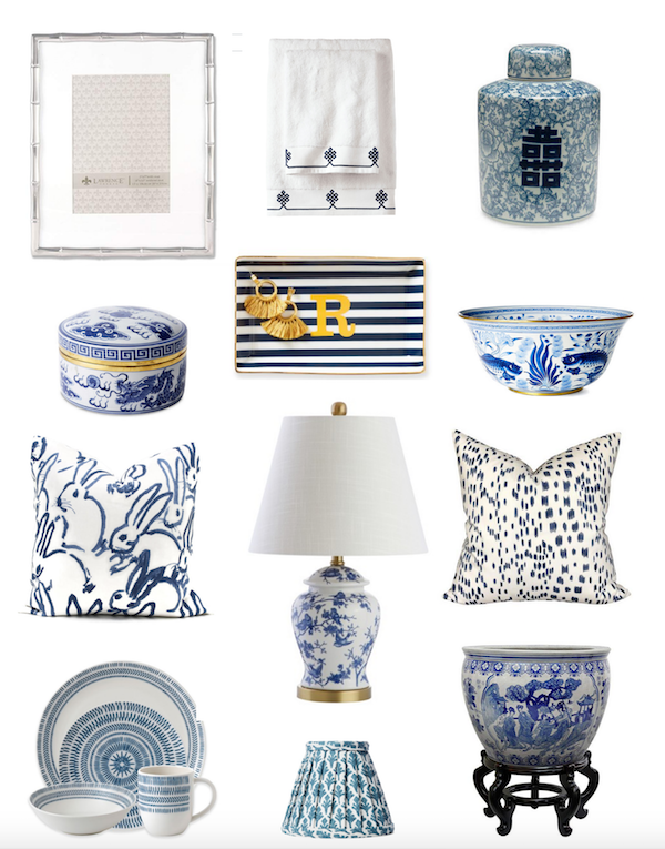 Budget Friendly Blue And White Home Decor Finds The Zhush